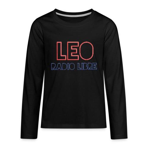 Léo Radio Libre png - T-shirt manches longues Premium Ado
