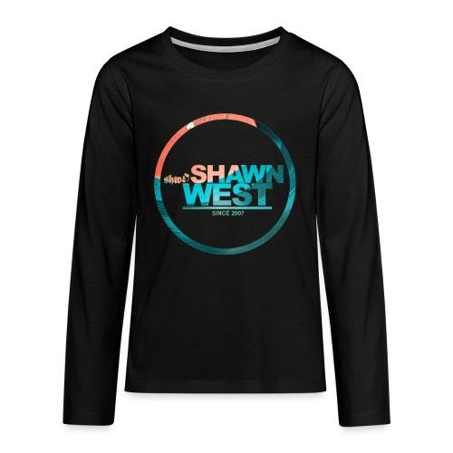 SHAWN WEST DISC JOKEY STYLE - Teenager Premium Langarmshirt