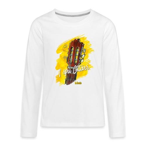 I spü Gitarr - limited edition '19 - Teenager Premium Langarmshirt