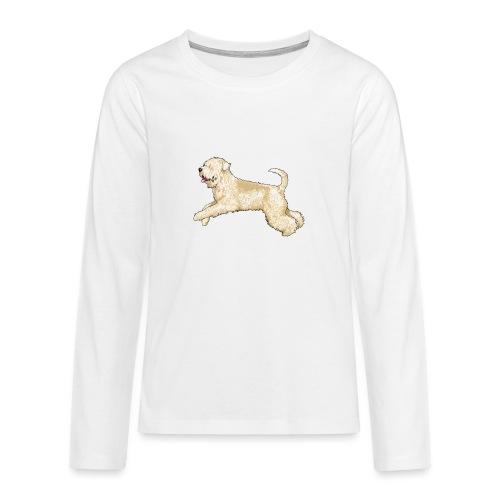 Wheaten Terrier Diamonds 4 - Teenagers' Premium Longsleeve Shirt