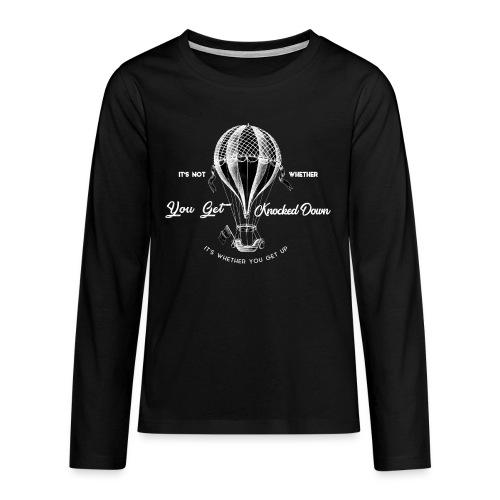 balon1 - Koszulka Premium z długim rękawem dla nastolatków