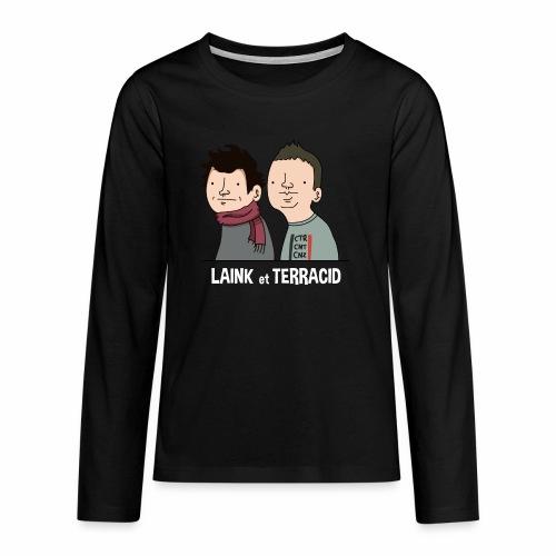 Laink et Terracid - T-shirt manches longues Premium Ado