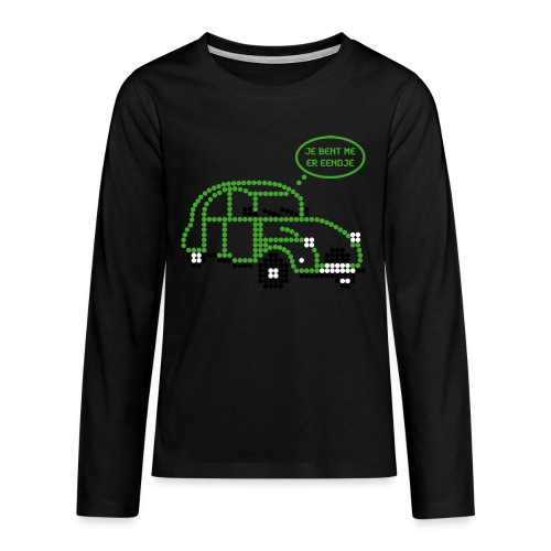 eendje.png - Teenager Premium shirt met lange mouwen