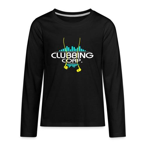 Clubbing Corp. by Florian VIRIOT - T-shirt manches longues Premium Ado