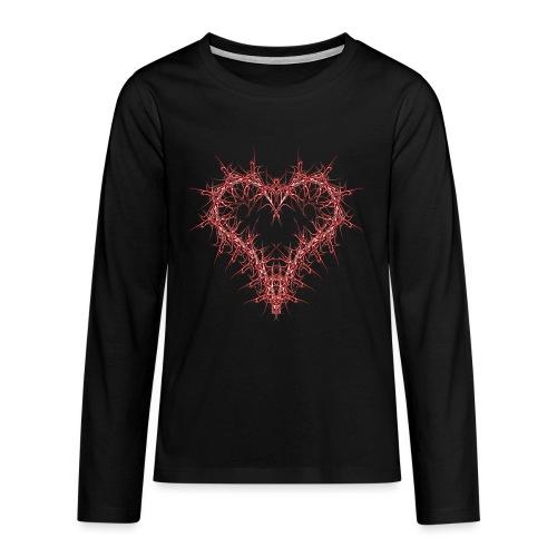 hertz 1 - Teenager Premium Langarmshirt