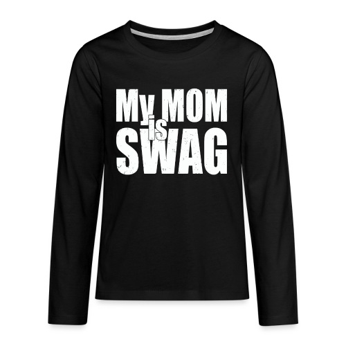 Swag White - Teenager Premium shirt met lange mouwen