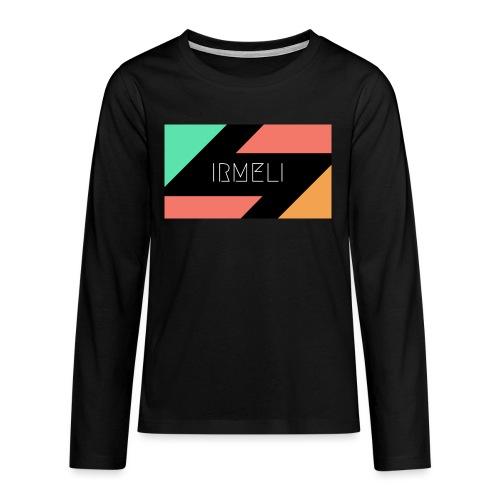 1 - Teinien premium pitkähihainen t-paita