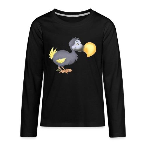 Dropsiger Dodo - Teenager Premium Langarmshirt