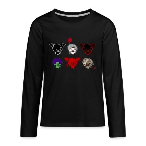 Sheepers Creepers - Premium langermet T-skjorte for tenåringer