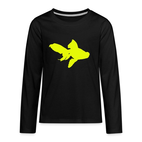 black moor - Maglietta Premium a manica lunga per teenager