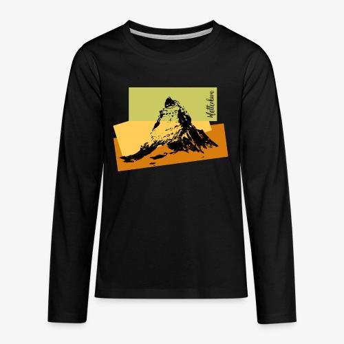 Matterhorn - Teenagers' Premium Longsleeve Shirt