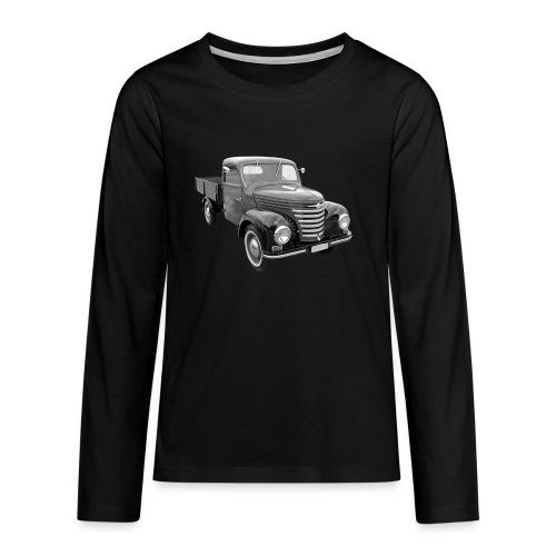 Framo Barkas Transporter Lkw DDR IFA Oldtimer - Teenager Premium Langarmshirt