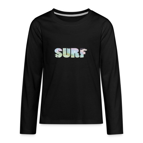 Surf summer beach T-shirt - Teenagers' Premium Longsleeve Shirt
