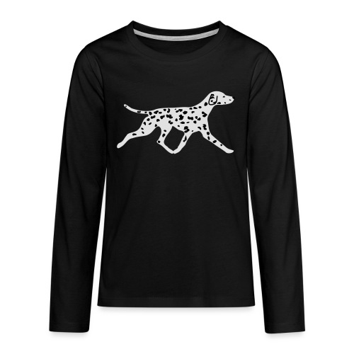 Dalmatiner - Teenager Premium Langarmshirt