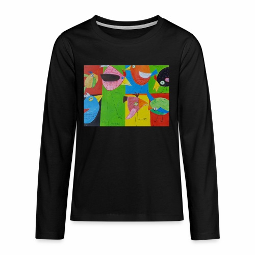 Lovebirds - Liebesvögel - Teenager Premium Langarmshirt