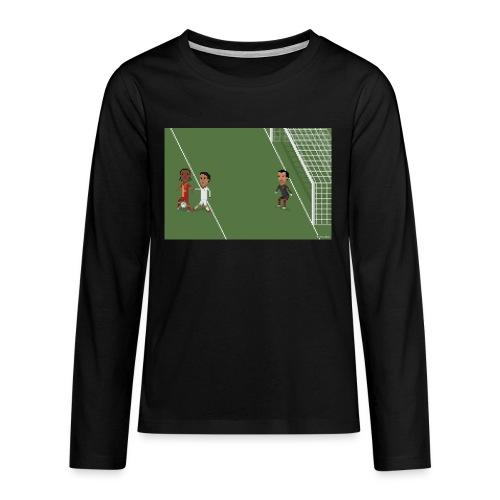 Backheel goal BG - Teenagers' Premium Longsleeve Shirt