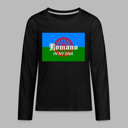 flaglennyinmydna - Långärmad premium T-shirt tonåring