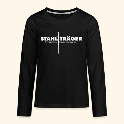Stahlträger - Teenager Premium Langarmshirt