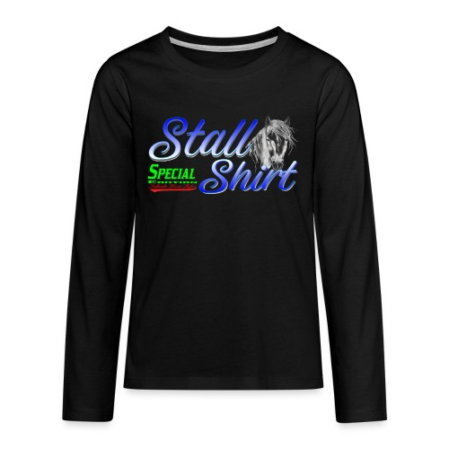 Special Edition Stall Shirt Reiten Geschenkidee - Teenager Premium Langarmshirt