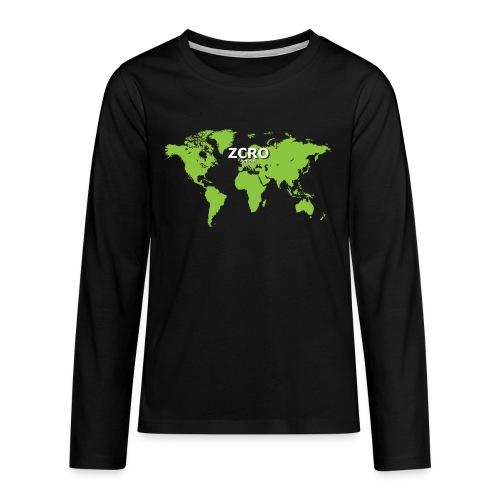 World Z€RO official - Teenagers' Premium Longsleeve Shirt