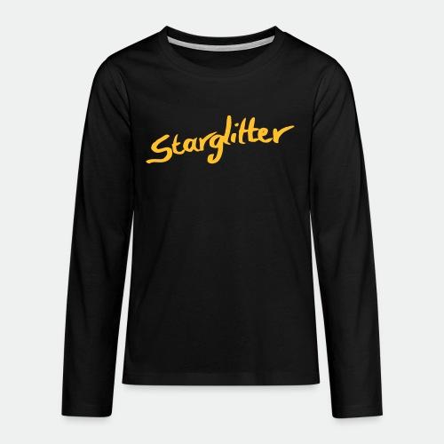Starglitter - Lettering - Teenagers' Premium Longsleeve Shirt
