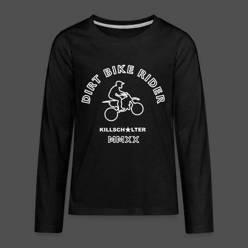 DIRT BIKE RIDER MMXX we - Teenagers' Premium Longsleeve Shirt