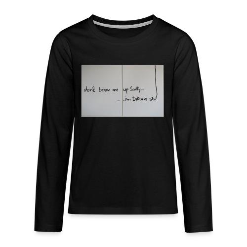 SCOTTY - Teenager Premium Langarmshirt