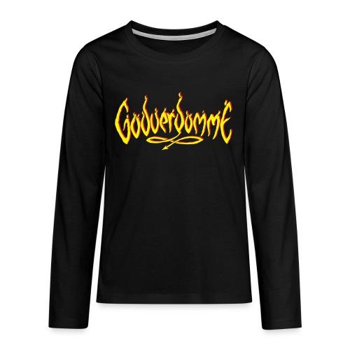 godverdomme - T-shirt manches longues Premium Ado