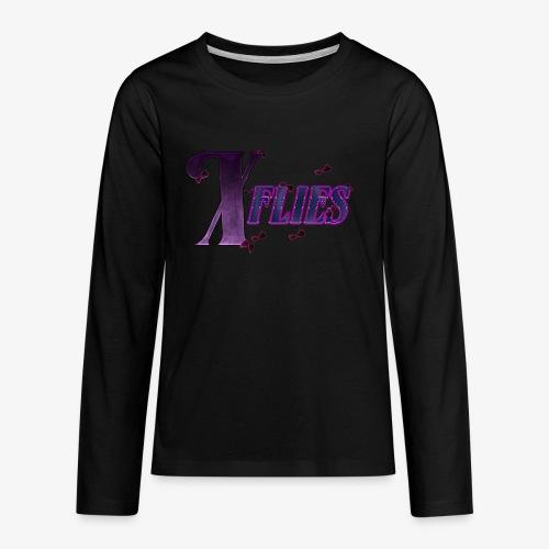 X flies - Teenagers' Premium Longsleeve Shirt