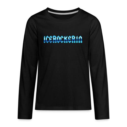 Icerockerin - Teenager Premium Langarmshirt