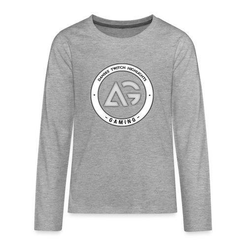 Amdi - Teenager premium T-shirt med lange ærmer