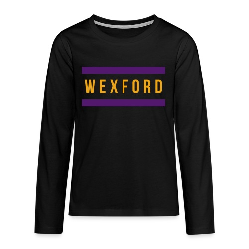 Wexford - Teenagers' Premium Longsleeve Shirt