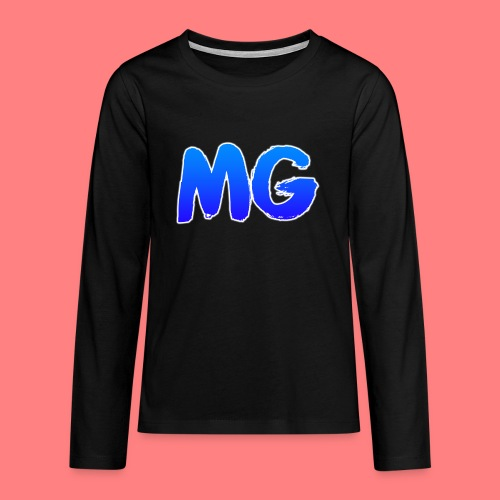 MG - Teenager Premium shirt met lange mouwen