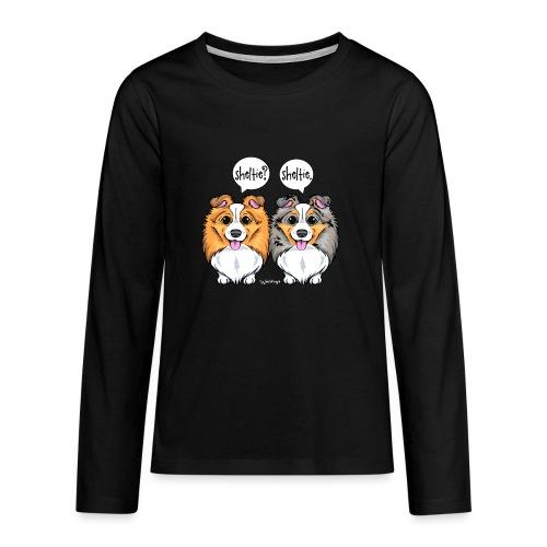 Sheltie Sheltie 3 - Teenagers' Premium Longsleeve Shirt