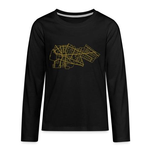 Berlín Kreuzberg - Koszulka Premium z długim rękawem dla nastolatków
