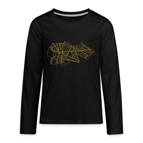 Berlin Kreuzberg - T-shirt manches longues Premium Ado