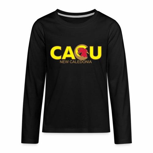 Cagu New Caldeonia - T-shirt manches longues Premium Ado