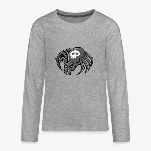 Angry Spider III - Teinien premium pitkähihainen t-paita