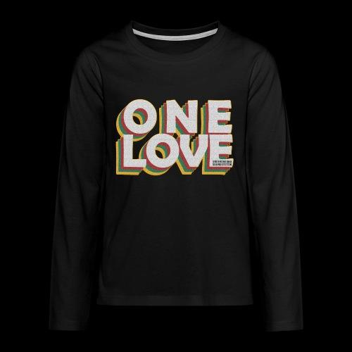 ONE LOVE - Teenager Premium Langarmshirt