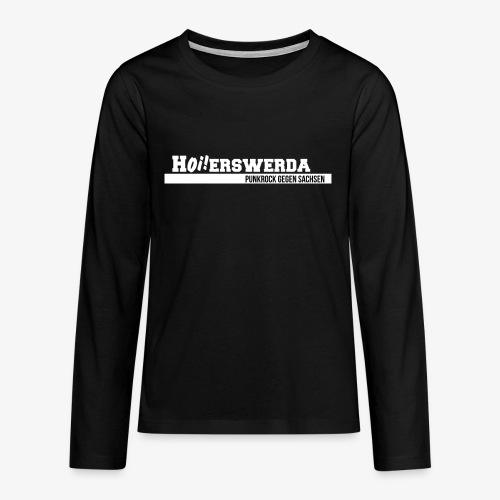 Logo Hoierswerda transparent - Teenager Premium Langarmshirt
