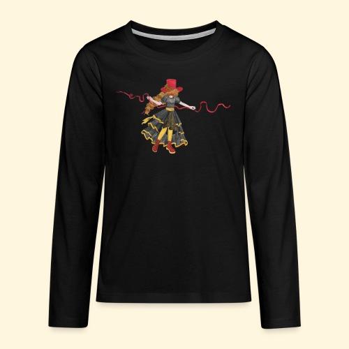 Ladybird - La célèbre uchronaute - T-shirt manches longues Premium Ado