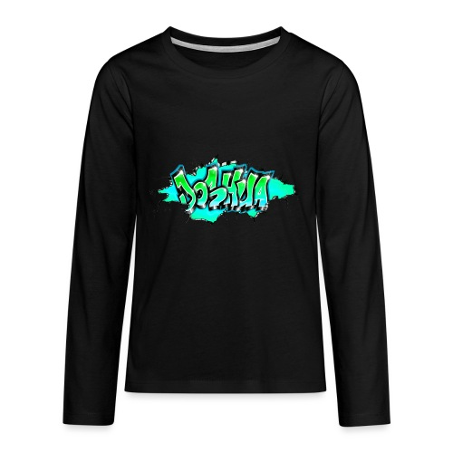 GRAFFITI JOSHUA PRINTABLE WALL BROKE - T-shirt manches longues Premium Ado