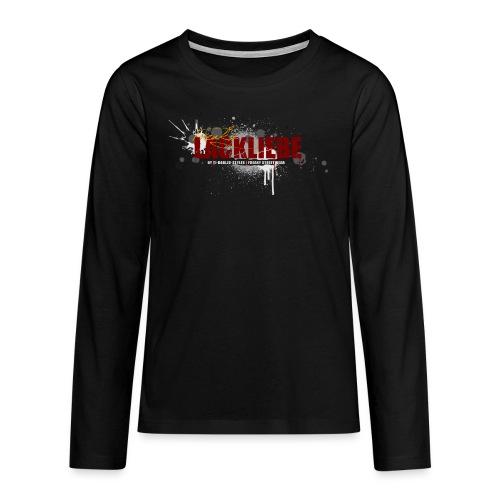 LACKLIEBE - Teenager Premium Langarmshirt