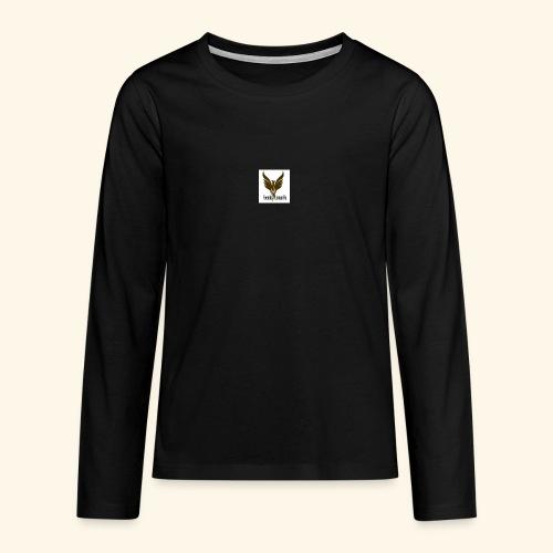 feeniks logo - Teinien premium pitkähihainen t-paita