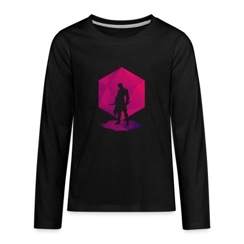 Varjo-salamurhaaja - Dungeons and Dragons d20 - Teinien premium pitkähihainen t-paita