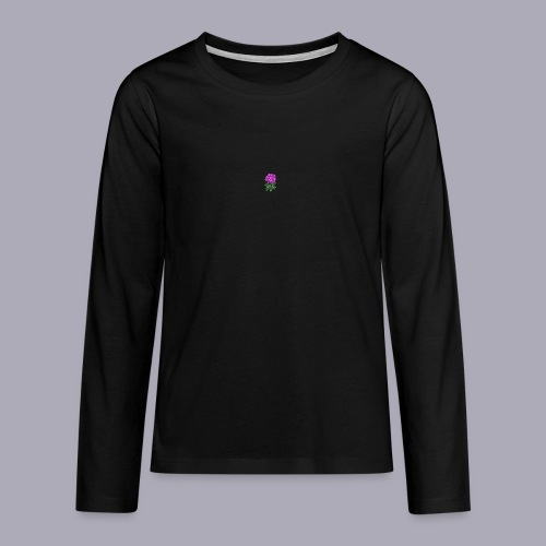 Landryn Design - Pink rose - Teenagers' Premium Longsleeve Shirt