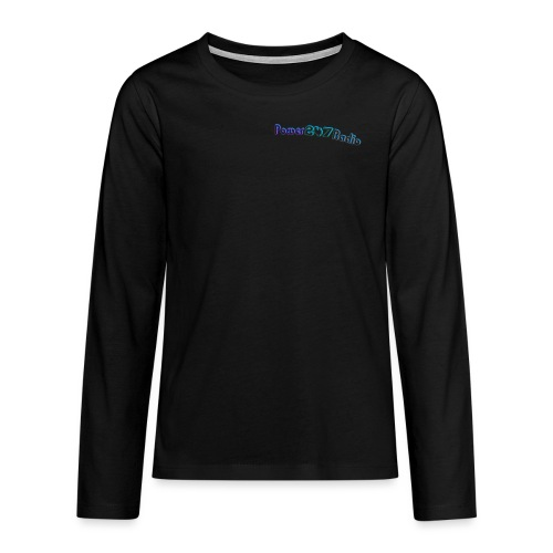 Power247Radio - Teenagers' Premium Longsleeve Shirt