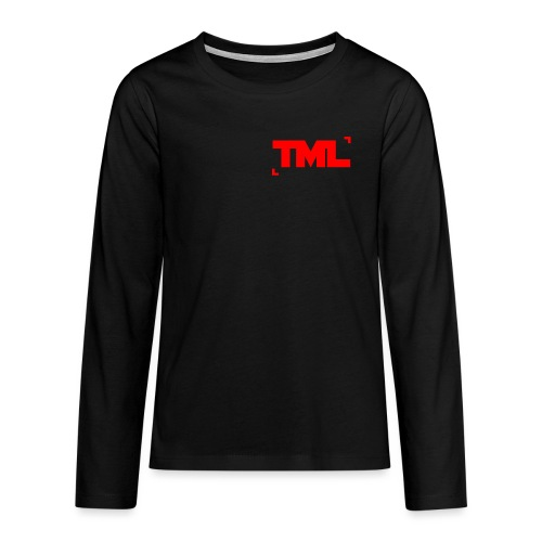 TML RED - Teenagers' Premium Longsleeve Shirt
