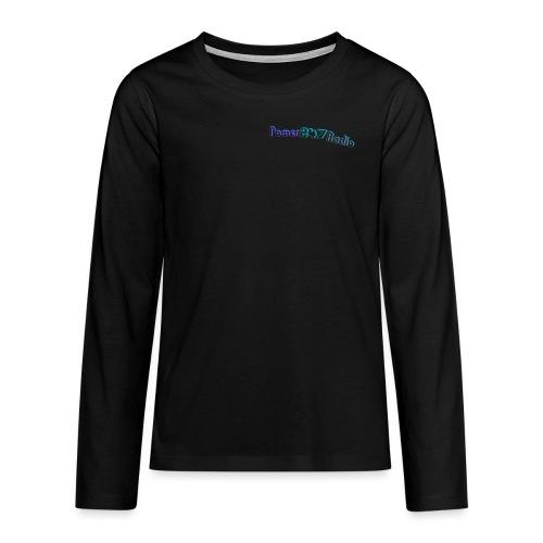 Power247Radio - Teenagers' Premium Longsleeve Shirt