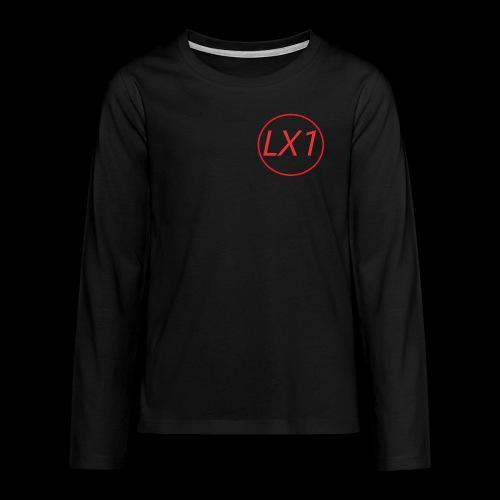 WilleLX1 Logo - Långärmad premium T-shirt tonåring